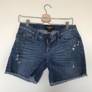 Lucky Brand long inseam jean shorts - Size 2/26